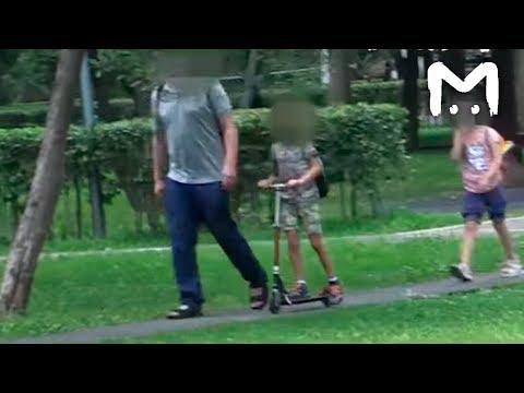 Эксперимент. Легко ли украсть ребенка с детской площадки?