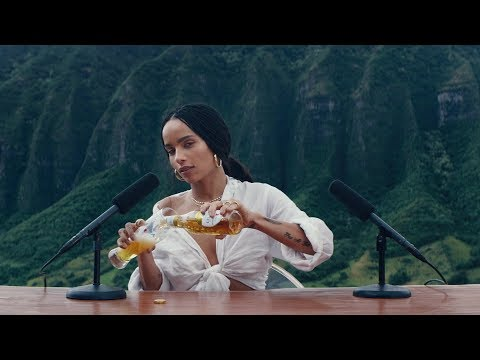 ULTRA Pure Gold Super Bowl Commercial with Zoe Kravitz ASMR
